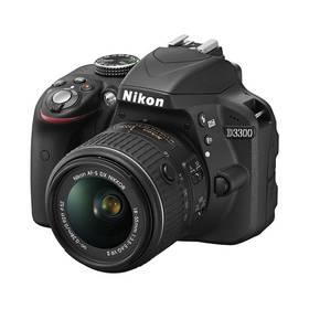 Nikon D3300 + 18-55 AF-S DX VR II černý + Doprava zdarma