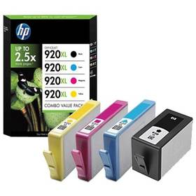HP No. 920XL, 1200 stran, CMYK (C2N92A)