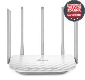 TP-Link Archer C60 + IP TV na 1 měsíc ZDARMA (Archer C60) bílý + Doprava zdarma