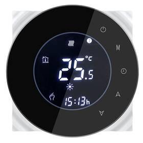 iQtech SmartLife GALW-B, WiFi termostat pro kotle s potenciálovým spínáním (IQTGALW-B) černý