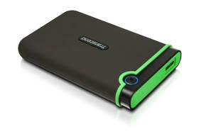 Transcend StoreJet 25M3 500GB (TS500GSJ25M3) šedý/zelený