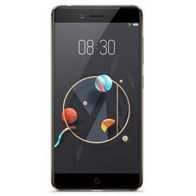 Nubia Z17 mini Dual SIM 4 GB + 64 GB (6902176901058) černý/zlatý + Doprava zdarma
