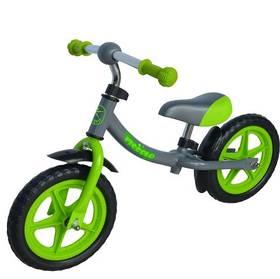 """LIFEFIT PICCOLO 12"""" šedé/zelené + Reflexní sada 2 SportTeam (pásek, přívěsek, samolepky) - zelené v hodnotě 58 Kč"""