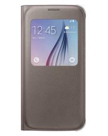 Samsung S-View pro Galaxy S6 (EF-CG920PF) (EF-CG920PFEGWW) hnedé