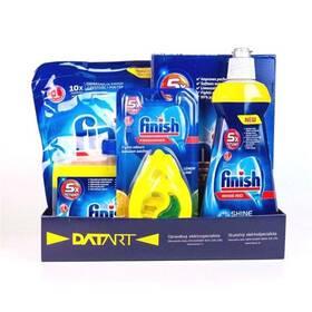 Příslušenství k myčce Finish Starter pack pro myčky - tablety, sůl, leštidlo, osvěžovač, čistič