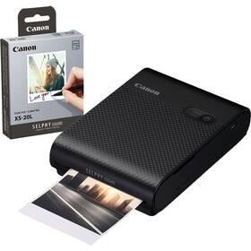 Canon Selphy Square QX10 + papíry 20 ks černá
