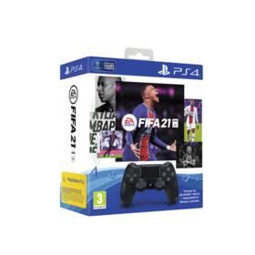 Sony Dual Shock 4 pro PS4 v2 - černý + FIFA 21 (PS719834724)
