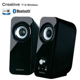 Creative Labs Inspire T12 bluetooth 2.0 (51MF1650AA000) čierna