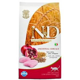 N&D Low Grain CAT Adult Chicken & Pomegranate 10 kg + Doprava zdarma