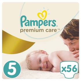 Pampers Premium Care 5 JUNIOR 56ks + Doprava zdarma