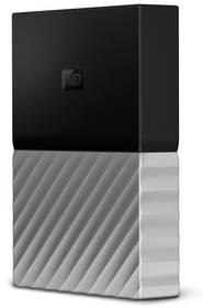 Western Digital My Passport Ultra 4TB (WDBFKT0040BGY-WESN) černý/šedý + Doprava zdarma