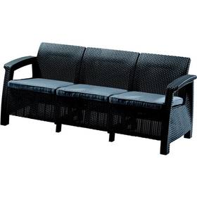 Allibert Love seat Max antracit + Doprava zdarma