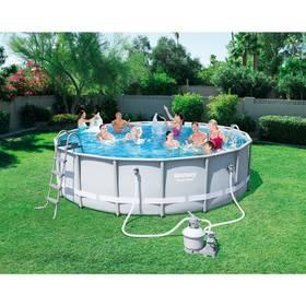 Bestway Steel Frame Pool 488 x 122 cm + Doprava zdarma