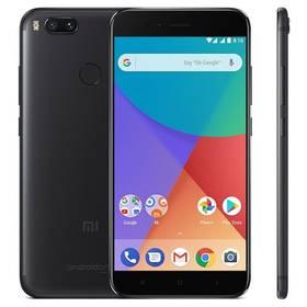 Xiaomi Mi A1 64 GB Dual SIM CZ LTE (PH3619) černý Software F-Secure SAFE, 3 zařízení / 6 měsíců (zdarma) + Doprava zdarma