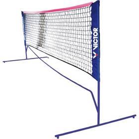 Victor Mini Badminton net - 3 nastavitelné výšky černá + Doprava zdarma