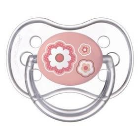 Canpol babies NEWBORN BABY silikonové třešinka 0-6m růžové