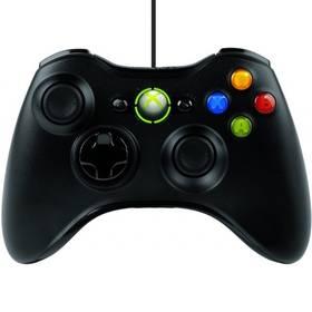 Microsoft Xbox 360 Wired Controller (S9F-00002) černý