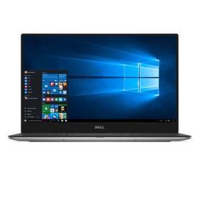 Dell XPS 13 (9360) +FPR (9360-64207) stříbrný + Doprava zdarma