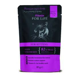 FITMIN for Life Cat Pouch Kitten chicken 85 g