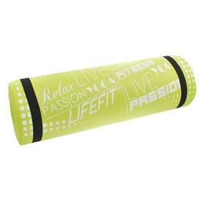 LIFEFIT Yoga Mat Exkluziv 100x60x1cm zelená