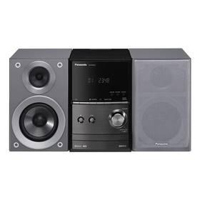 Panasonic SC-PM600EG-S stříbrná Sluchátka Panasonic RP-HF100ME-K - černá (zdarma) + Doprava zdarma