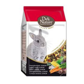 Deli Nature 5 Menu DWARF RABBITS JUNIOR Zakrslý králík 2,5 kg