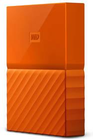 Externý pevný disk Western Digital My Passport 3TB (WDBYFT0030BOR-WESN) oranžový