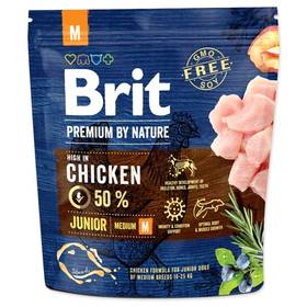 Brit Premium Dog by Nature Junior M 1 kg