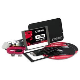 Kingston SSDNow V300 240GB (7mm) Upgrade Kit (SV300S3B7A/240G) černý