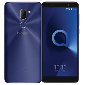 ALCATEL 3X 5058I Dual SIM (5058I-2BALE11) modrý SIM s kreditem T-Mobile 200Kč Twist Online Internet (zdarma)