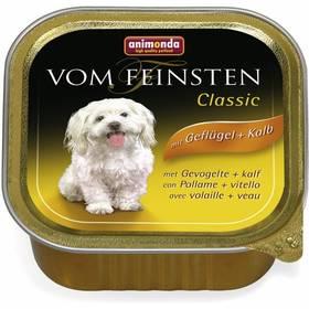 Animonda Vom Feinsten Classic drůbeží + telecí 150g