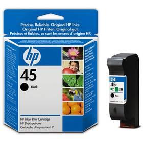 HP No. 45, 21ml - originální (51645GE) černá