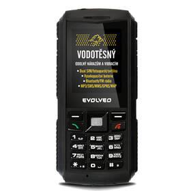 """Evolveo StrongPhone X1 (SGP-X1) černý TWIST SIM karta """"Neomezeně"""" 200 Kč kredit (zdarma) + Doprava zdarma"""