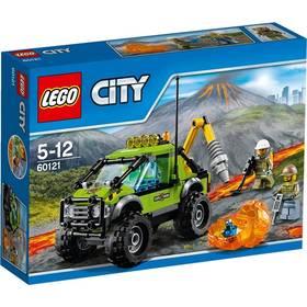 LEGO® City Sopeční průzkumníci 60121 Sopečné průzkumné vozidlo