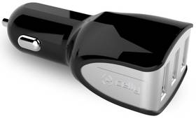 Celly Turbo, 3x USB, 4,4A (CC3USBTURBOBK) černá