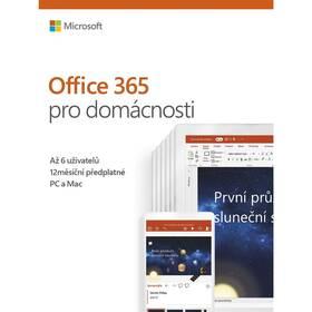 Microsoft Office 365 Pro domácnosti CZ - samostatně neprodejné (6GQ-00898)