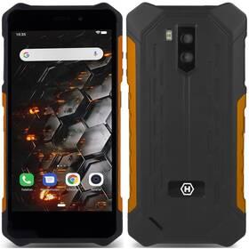 myPhone Hammer Iron 3 LTE (TELMYAHIRON3LOR) černý/oranžový