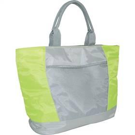 Chladiaca taška Calter plážová SP 15L strieborná/zelená