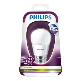 Philips klasik, 4W, E27, teplá bílá