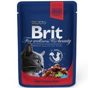 Brit Cat with Beef Stew & Peas 100 g