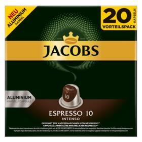 Jacobs Espresso intenzita 10, 20 ks
