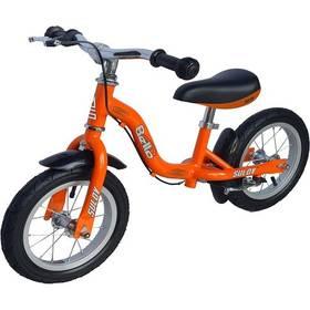 """Sulov BELLA 12"""" oranžové + Reflexní sada 2 SportTeam (pásek, přívěsek, samolepky) - zelené v hodnotě 58 Kč"""