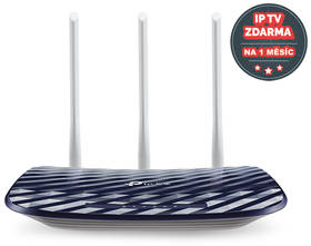 TP-Link Archer C20 V4 + IP TV na 1 měsíc ZDARMA (Archer C20) modrý + Doprava zdarma