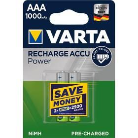 Varta Rechargeable Accu AAA, HR06, 1000mAh, Ni-MH, blistr 2ks (5703301402)