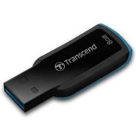 Transcend JetFlash 360 8GB (TS8GJF360) černý/modrý