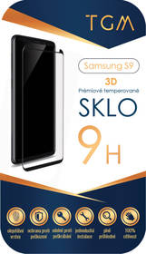 TGM 3D pro Samsung Galaxy S9 (TGMSGS9) průhledné + Doprava zdarma
