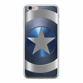 Marvel Captain America pro Apple iPhone 6/6s (MPCCAPAM1802) stříbrný