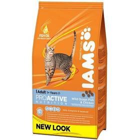 Iams Cat rich in Ocean Fish 15 kg + Doprava zdarma