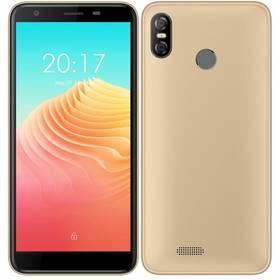 UleFone S9 Pro Dual SIM (ULE000019) zlatý SIM s kreditem T-Mobile 200Kč Twist Online Internet (zda
