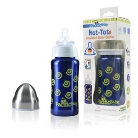 Pacific Baby Hot-Tot 200ml modrá/spirálky